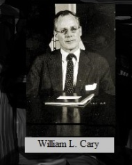 William L. Cary, SEC Chairman